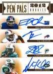 Panini America 2012 Prime Signatures Pen Pals 8