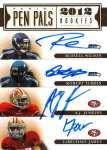 Panini America 2012 Prime Signatures Pen Pals 9