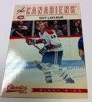 Panini America Classics Signatures Hockey Pre-Auto 41