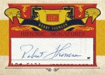 Panini America Golden Age Historic Cut Signature