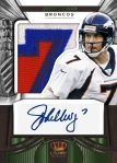 2012 Crown Royale FB Elway