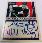 Panini America 2012-13 Classics Signatures Early 10