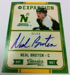 Panini America 2012-13 Classics Signatures Early 20