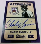 Panini America 2012-13 Classics Signatures Early 5