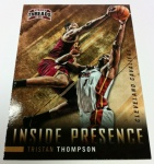 Panini America 2012-13 Threads Basketball QC Tease 34