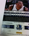 Panini America 2012-13 Threads Basketball QC Tease 52