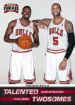 Panini America 2012-13 Threads Talented Twos 24