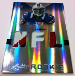 Panini America 2012 Absolute FB Pre-Ink 11