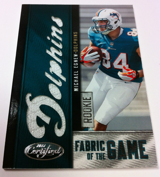 Panini America 2012 Certified FB QC 29