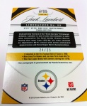 Panini America 2012 Certified FB QC 64