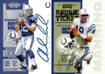 Panini America 2012 Contenders Football Luck Manning