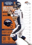 Panini America 2012 Contenders Football Manning