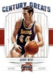 Panini America 2012 Threads Basketball Century Greats 14