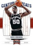 Panini America 2012 Threads Basketball Century Greats 15