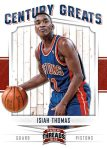 Panini America 2012 Threads Basketball Century Greats 16