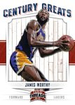 Panini America 2012 Threads Basketball Century Greats 17