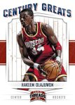 Panini America 2012 Threads Basketball Century Greats 8
