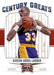 Panini America 2012 Threads Basketball Century Greats 9