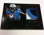 Panini America Black Football Pre-Ink 16