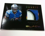 Panini America Black Football Pre-Ink 20