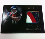 Panini America Black Football Pre-Ink 34