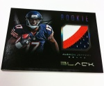 Panini America Black Football Pre-Ink 36