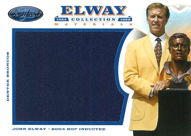 Panini America Elway Collection 18