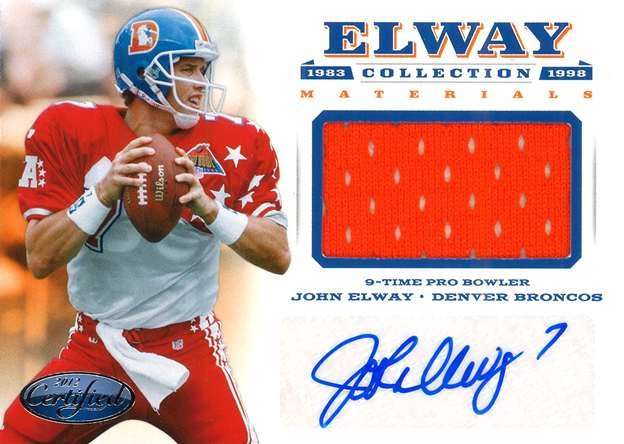 Panini America Elway Collection 7