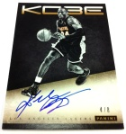 Panini America Kobe Anthology Auto 1