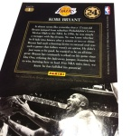 Panini America Kobe Anthology Auto 10