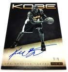 Panini America Kobe Anthology Auto 2