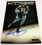 Panini America Kobe Anthology Auto 3
