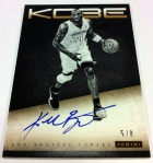 Panini America Kobe Anthology Auto 5