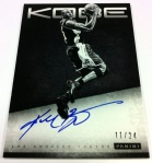 Panini America Kobe Anthology Auto 7