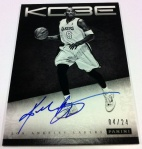 Panini America Kobe Anthology Auto 8