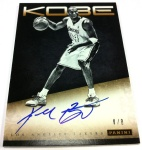 Panini America Kobe Anthology Auto 9