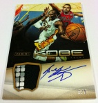 Panini America Kobe Anthology Auto Mem 12