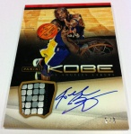 Panini America Kobe Anthology Auto Mem 13