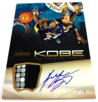 Panini America Kobe Anthology Auto Mem 14
