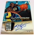Panini America Kobe Anthology Auto Mem 17