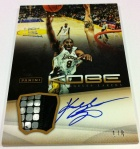 Panini America Kobe Anthology Auto Mem 21