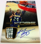Panini America Kobe Anthology Auto Mem 23