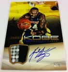 Panini America Kobe Anthology Auto Mem 25