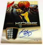 Panini America Kobe Anthology Auto Mem 27