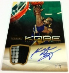 Panini America Kobe Anthology Auto Mem 28