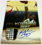 Panini America Kobe Anthology Auto Mem 29