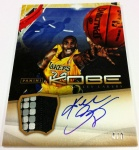 Panini America Kobe Anthology Auto Mem 32