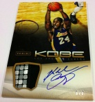 Panini America Kobe Anthology Auto Mem 33
