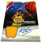Panini America Kobe Anthology Auto Mem 5