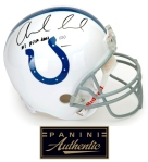 Panini Authentic Luck Inscribed Helmet